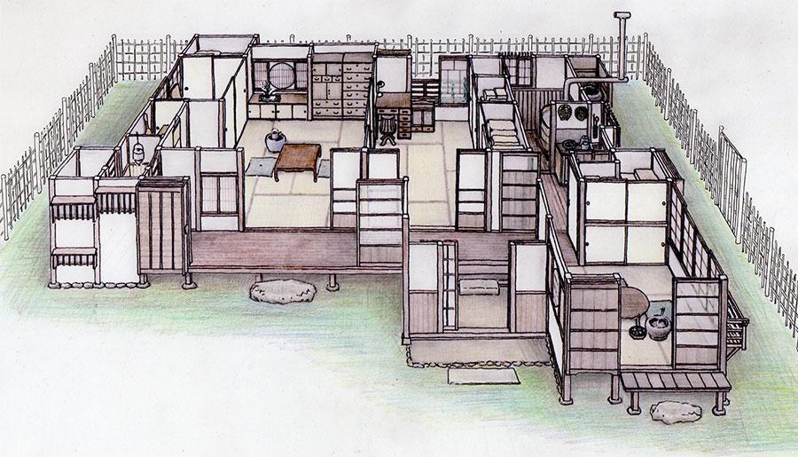 昭和初期の木造日本家屋