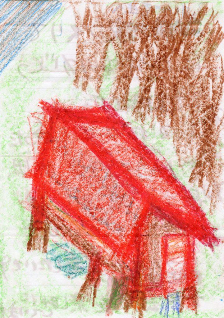 シュタイナー学校の家作りの授業